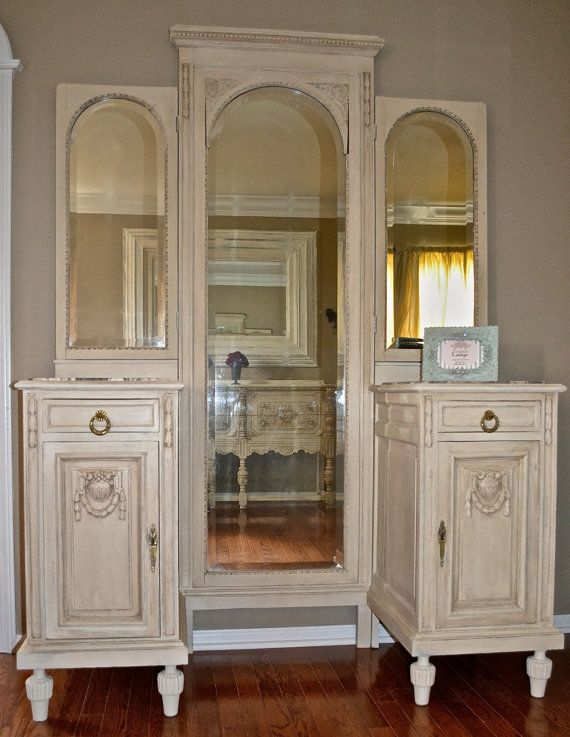 Antique French Vanity Louis XVI Style by TheYardleyCottage on Etsy, $950.00 - 121 Best Vintage Images On Pinterest Antique Furniture, Antique