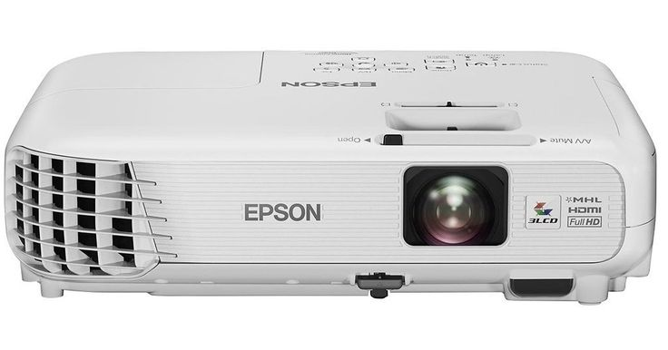 Epson PowerLite Home Cinema 1040 Tri-LCD Projector