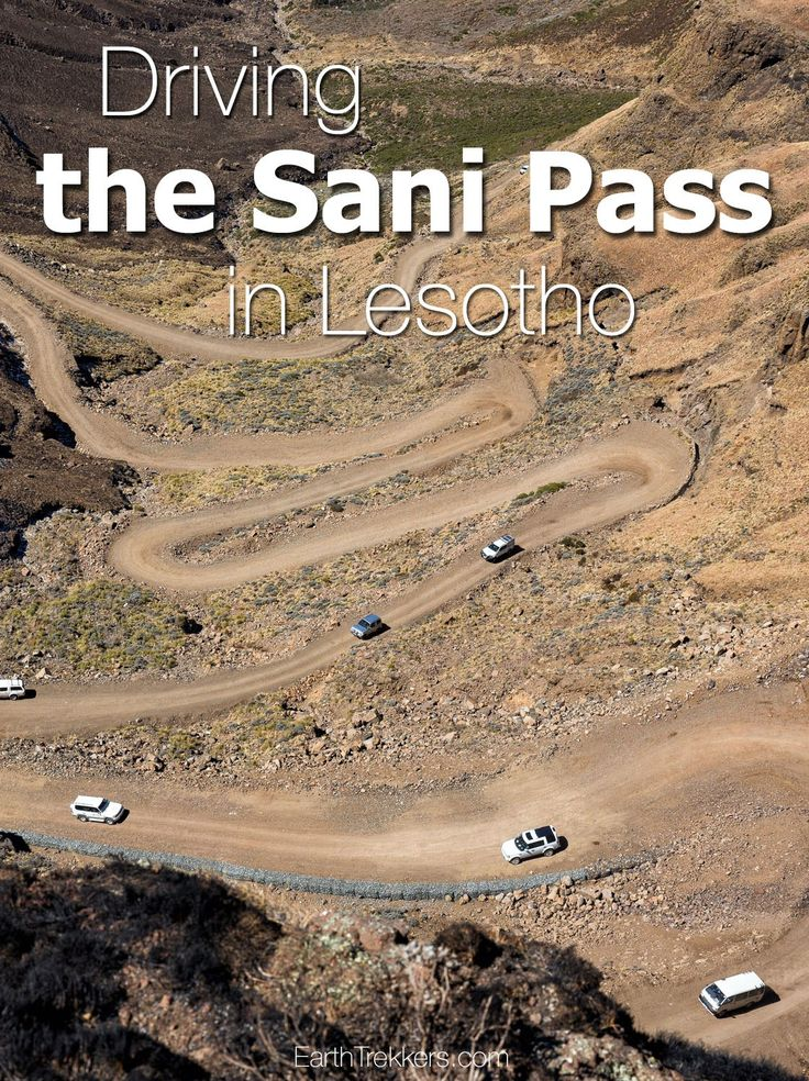 Sani Pass...looking for adventure? Driving this dirt road connecting South Africa and Lesotho is an unforgettable experience. Plus, have a drink at the highest pub in Africa!