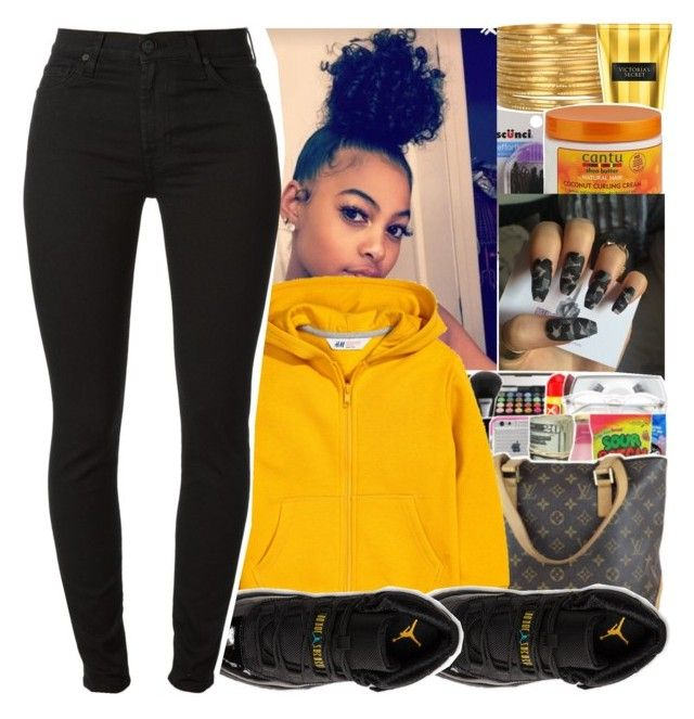"""""""Good Vibe"""" by divap01 ❤ liked on Polyvore featuring scunci, Satya Jewelry, Retrò and 7 For All Mankind"""
