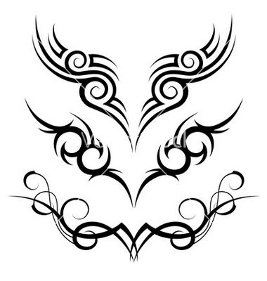Tribal tattoo vector image on