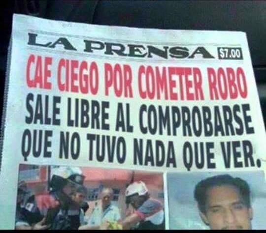 En cuanto al periodismo serio. | 26 Veces en las que México fue un WTF para el resto del mundo
