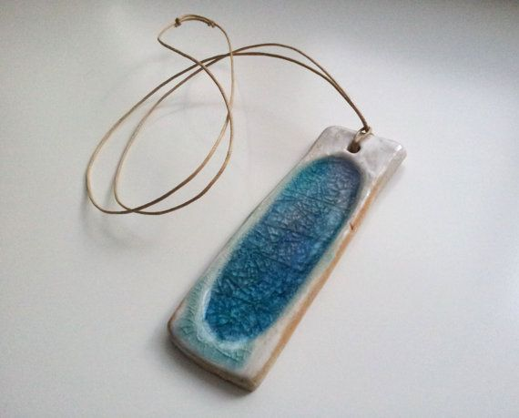 Check out this item in my Etsy shop https://www.etsy.com/listing/279988122/ceramic-melted-glass-jewelry-necklace