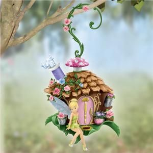 DISNEY TINKERBELL Treehouse Imagine Hanging Yard Decoration NEW