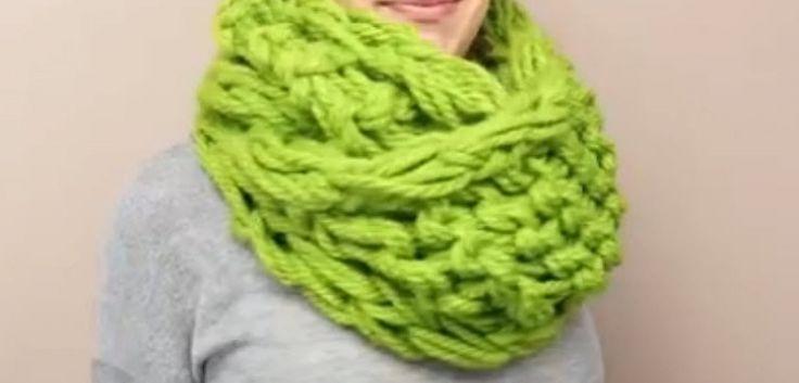 36 best tricot sans aiguilles images on pinterest - Tricoter sans aiguilles ...