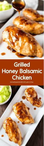 nice Grilled Honey Balsamic Chicken