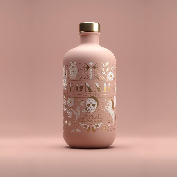 Bonnie & Clyde Gin is All You Need in this Life of Sin — The Dieline - Branding & Packaging Design