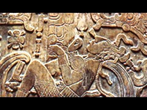 Ancient Aliens. This picture carved on the coffin of an ancient Mayan king looks remarkably like he's in a spacecraft.   VTP