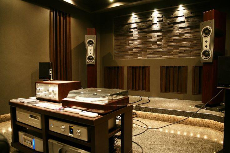 Акустическая обработка помещений - Акустическая обработка помещений, эксклюзивные домашние кинотеатры и акустические системы