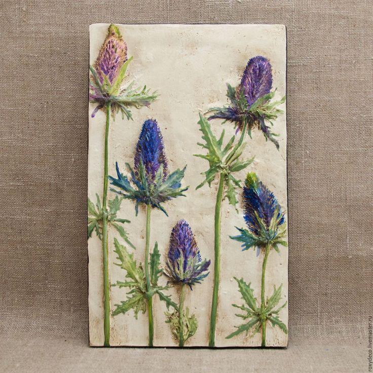 цветы синеголовник