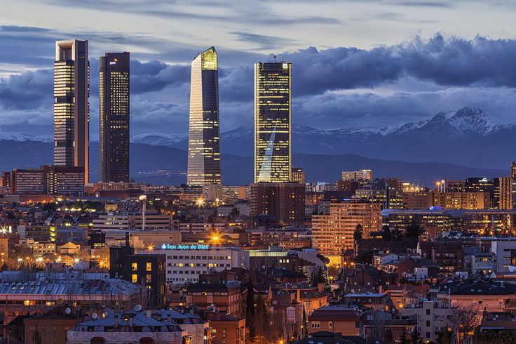 Torres de la Castellana. Madrid. España
