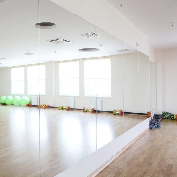 Gym Room At Home Mirrors, Best Size Mirror For Home Gym