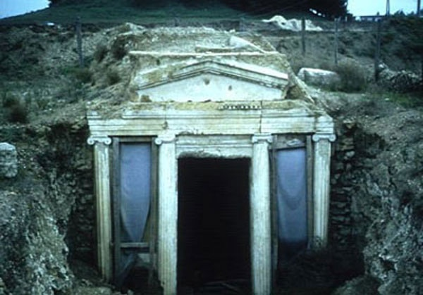 Vergina the Royal Tombs,Macedonia Greece