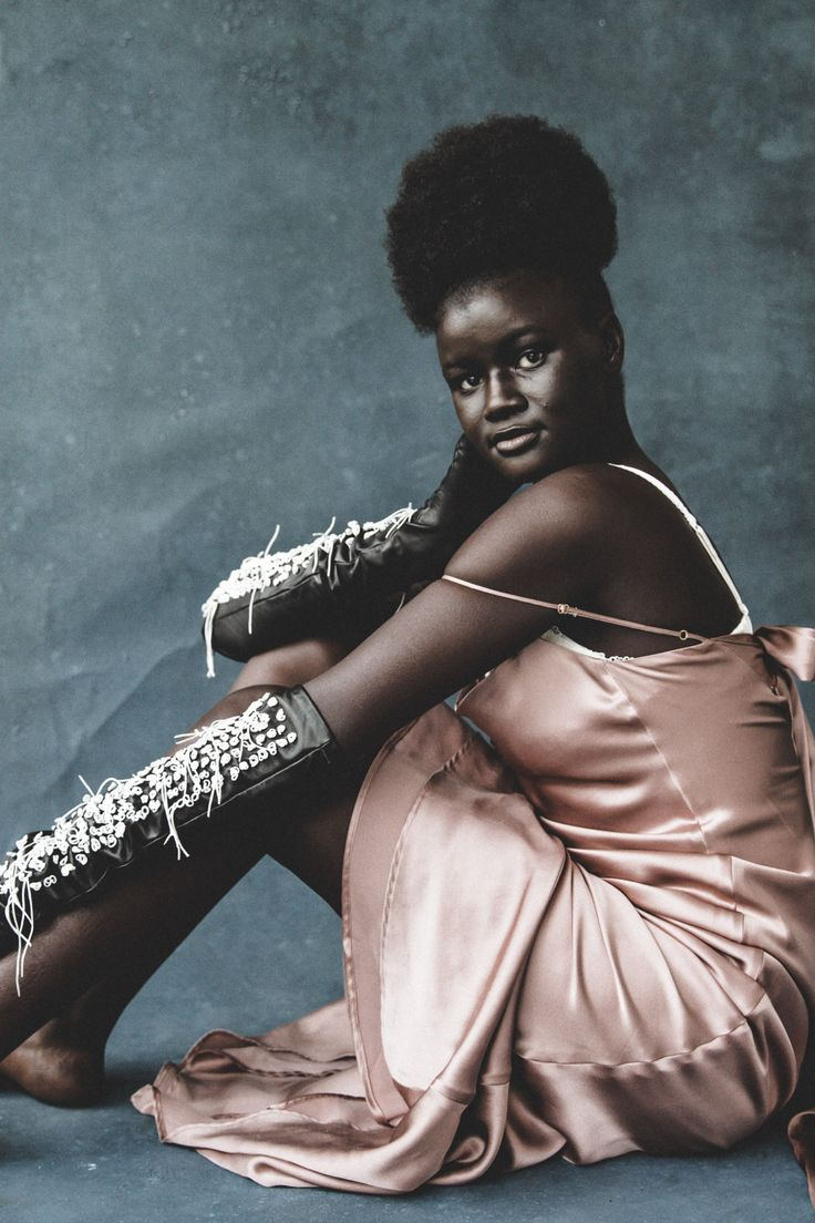 Khoudia Diop featured on Teen Vogue for All Woman Project