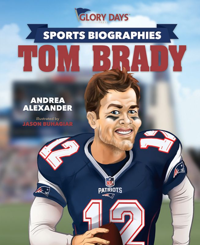 An Amazon #bestseller for all you #Pats fans! #Patriots #NewEngland #NEPatriots #ThePatriots #NewEnglandPatriots #football #TomBrady #bio #kidlit #childrensbook #sports #amreading