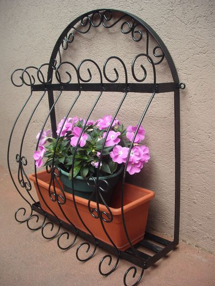 41 best canopy wrought iron images on pinterest diy - Decoraciones en hierro forjado ...