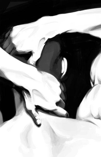 AP Studio Art Portfolio by Iris Tseng, via Behance