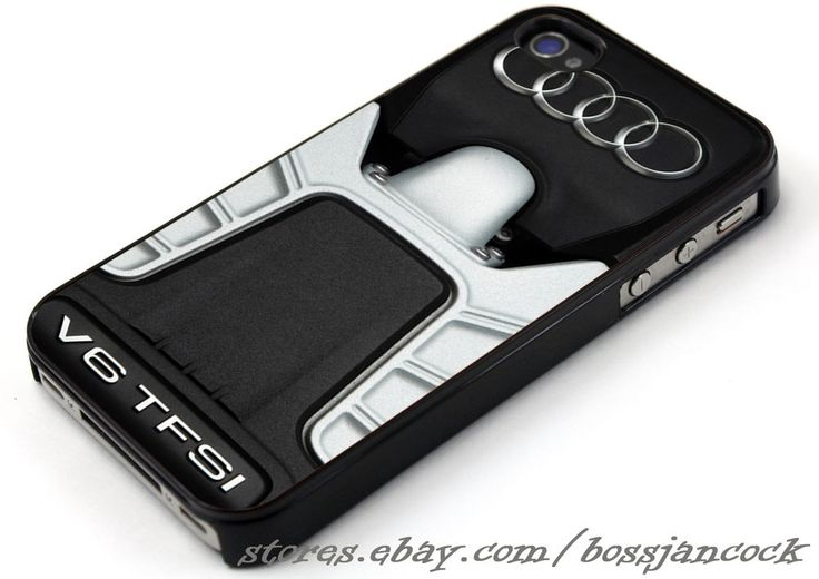 Audi TFSI V6 Engine Cases For iPhone 4 4s 5 5s 5c 6 6 plus, Samsung Galaxy Case #UnbrandedGeneric