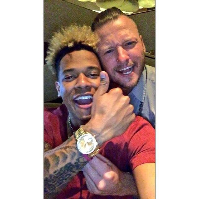 Marcus Stroman and Josh Donaldson of the Toronto Blue Jays