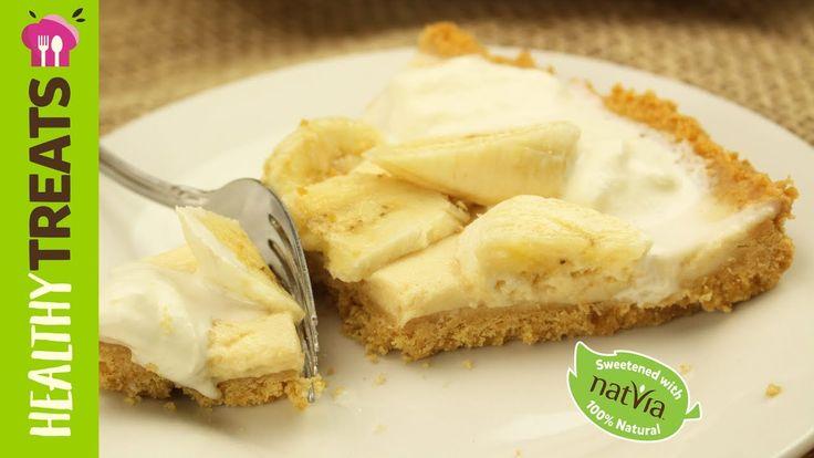 Sugar Free Banoffee Pie Recipe - Natvia's Healthy Treats