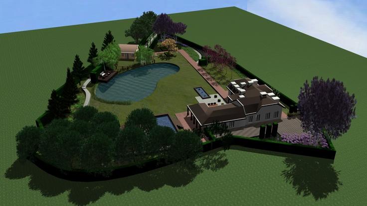 Garden animation for www.jorisvlassaktuinen.nl