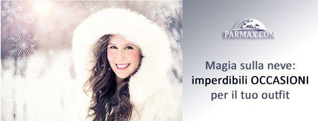 E' tempo di #sconti, per concludere al 🔝 i tuoi acquisti di questo A/I!  Tuffati nel mondo www.parmax.com e scopri tutti gli #articoli #fashion scontatissimi per rendere uniche le tue #vacanze invernali! Create your #style con #borse  👜 #accessori  👒 #scarpe  👠 #piumini  👕 #abiti 👗 e molto altro!