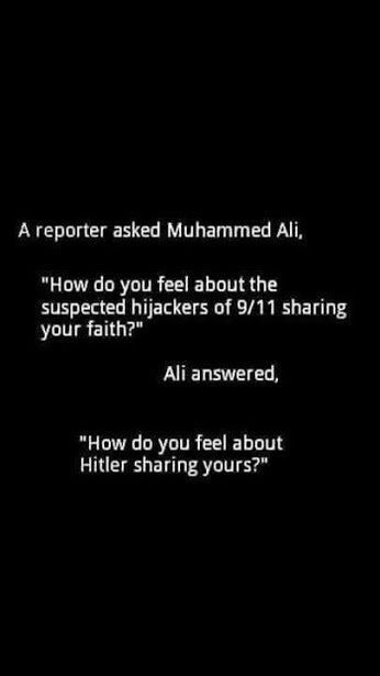 Best quotes by Muhammad Ali
