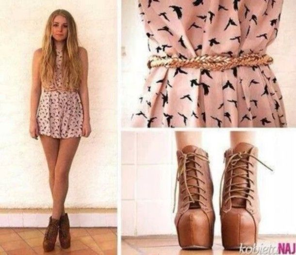 jeffrey campbell lita outfits - Google Search