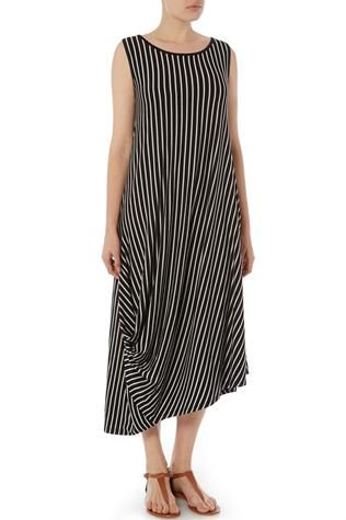 Love the ruched stripes - Ark Clothing | Ark Clothing Jersey Dress at Sahara