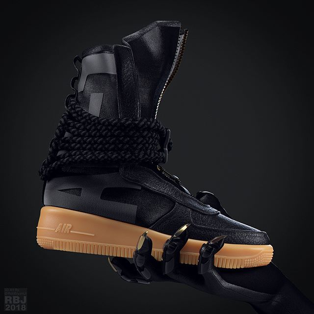 U201cNike AF1 SFu201d Black Panther Inspired (CGI) Wakanda Forever! So Hyped To See  Black Panther Tonight I Canu0027t Stand It . Here Is A Cgi Rendering Of The  Nike Air ...