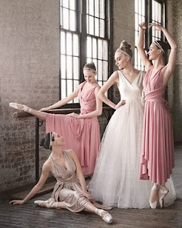 omg ballet wedding.. I don't know what board to put this under!!!