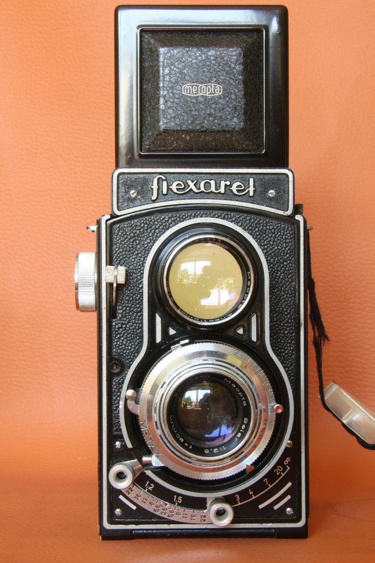 Flexaret Školní Přístroj Meopta Twin Lens Camera from Czechoslovakia - Vintage Camera