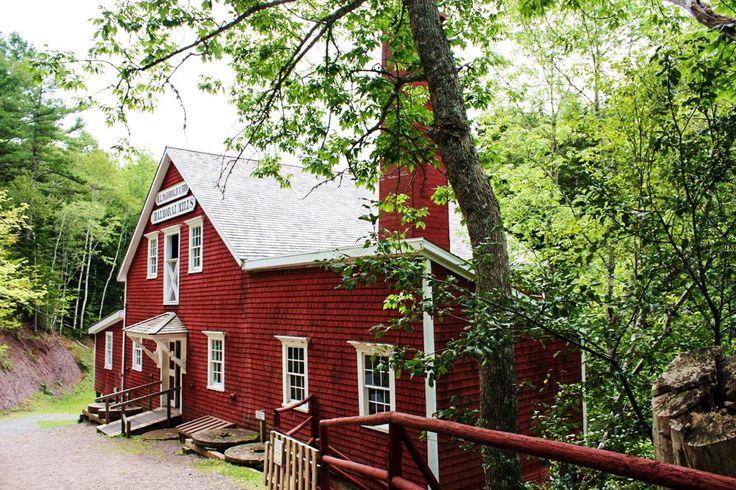 Die Balmoral Grist Mill am Sunrise Trail in Nova Scotia