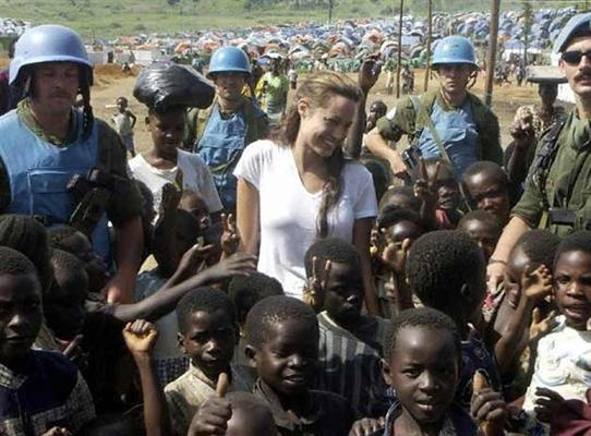 the humanitarian work of angelina jolie essay Who on earth doesn't know tomb rider yes, angelina jolie is our very own  lara croft in the film she is known to everyone by her philanthropic activities  more.