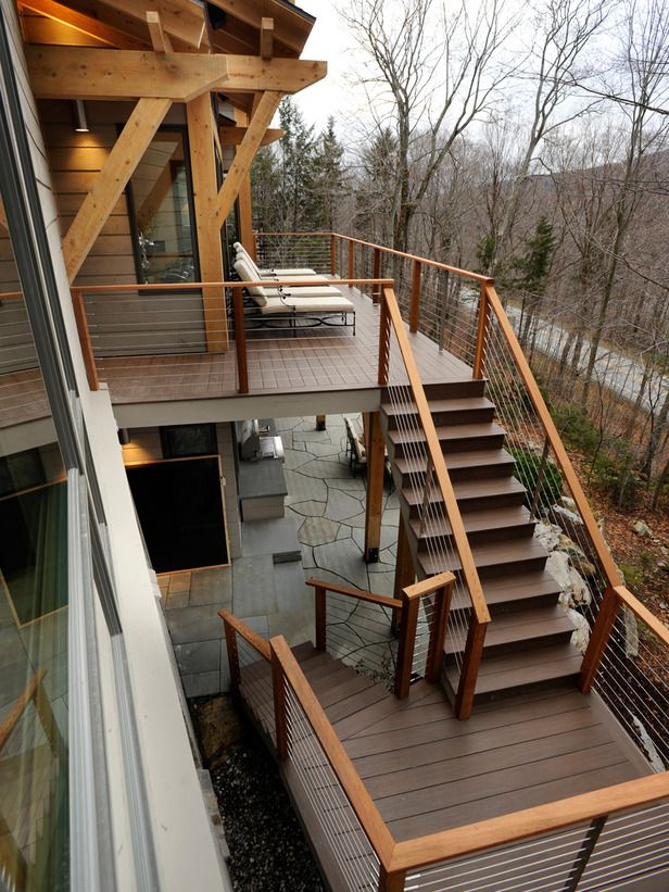 HGTV Dream Home 2011 Wood Deck and Terrace