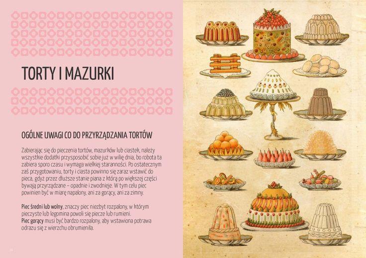 Ogólne uwagi przy przyrządzaniu ciast. Źródło: Wdowy i bękarty
