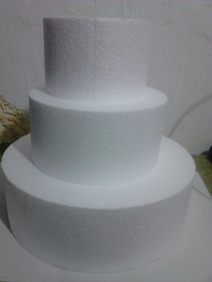 base de isopor redonda