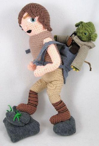 Star Wars Amigurumi crochet - Luke & Yoda