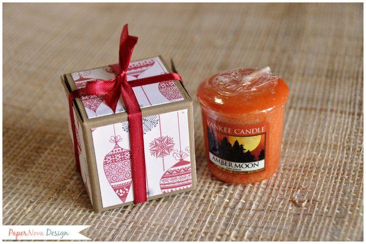 Christmas - Natale - PaperNova Design GIFT BOX Yankee Candle