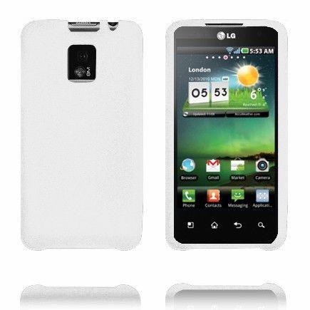 Soft Shell (Valkoinen) LG Optimus 2X Silikonisuojus