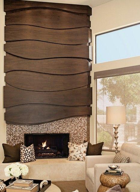 ideas de diseño para chimeneas