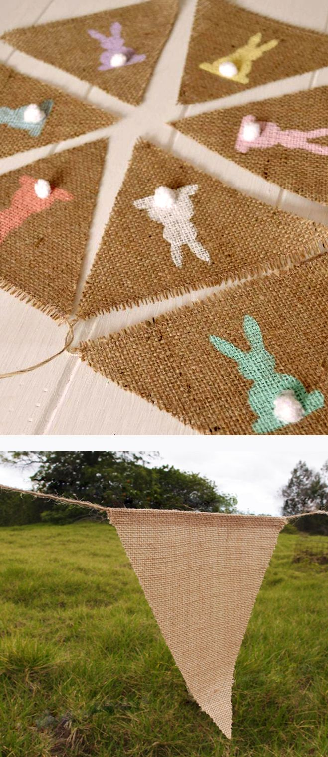 Burlap Flower Girl Basket Hobby Lobby : Images about burlap easter decorations on