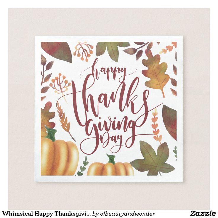 Best 25+ Happy thanksgiving day ideas on Pinterest | Happy ...