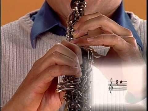 oboe - 11/15 - Posiciones basicas de las notas del oboe