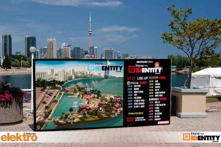 Toronto Skyline at Identity Festival
