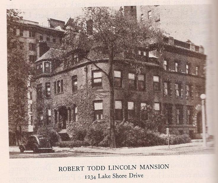 Robert Todd Lincoln At Lincoln Memorial