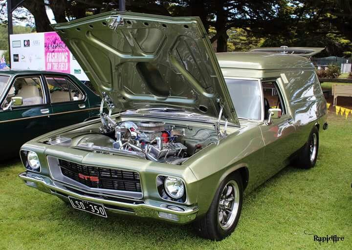 ◆ Visit MACHINE Shop Café... ◆ ~ Aussie Custom Cars & Bikes ~ (The 1971 HQ Holden Panelvan)