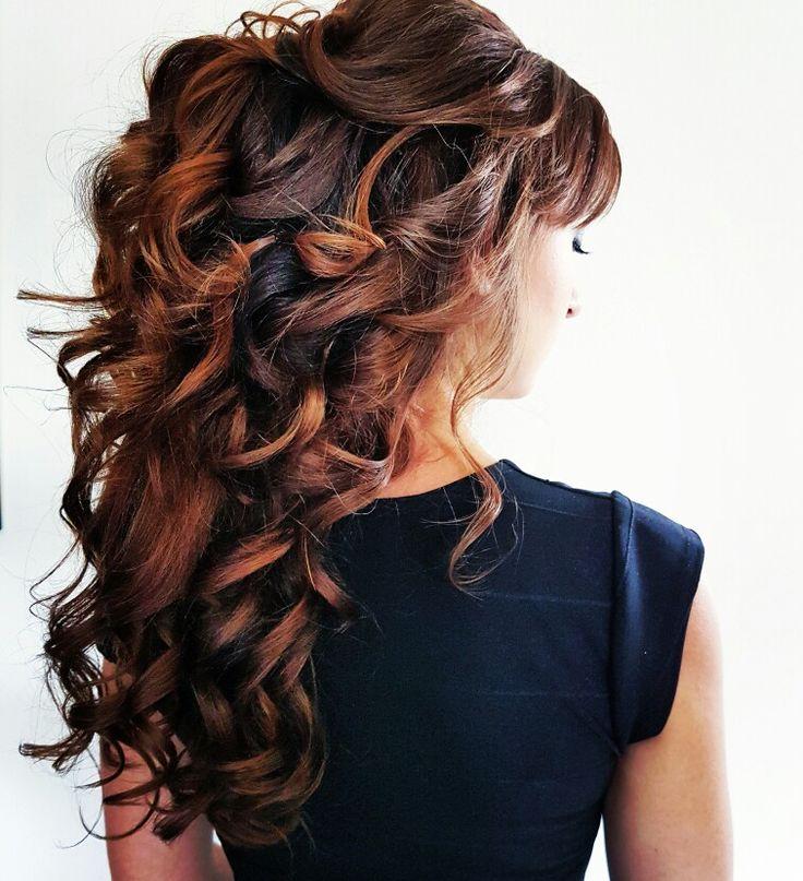 Bruidskapsel los Hair and make up: Linda van Reeven Info@faceandart.nl www.facea…