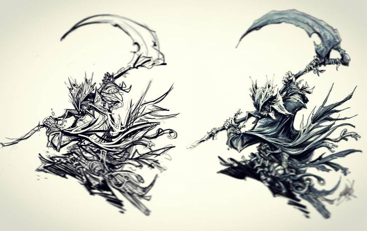Artsy Fartsy Dark Souls Ii Concept Art: Bloodborne Hunter Rough To Finish. Was At Tokyo Game Show