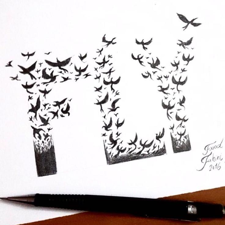 Fly by @fouadzahiri #abstractart #abstract #instadaily #bird #fly